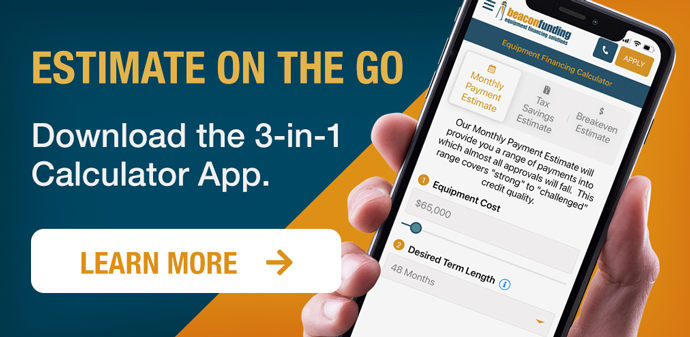 Estimate on the go. Download the 3-in-1 calculator app.