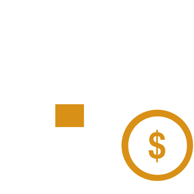 Calendar with dollar sign on date