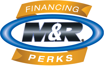 M&R Financing perks logo